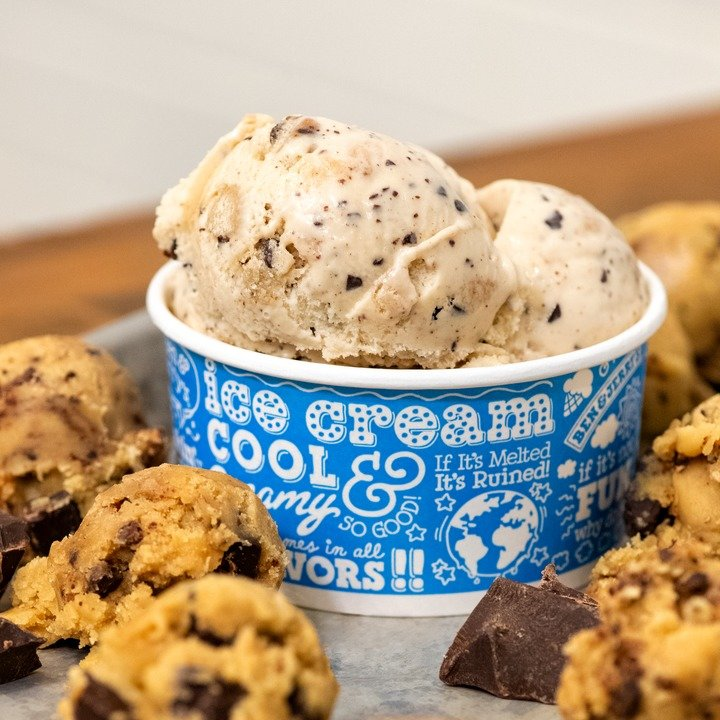 Chocolate Chip Cookie Dough Vegano: duplamente inspirado por você