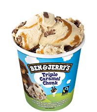 Triple Caramel Chunk Original Ice Cream