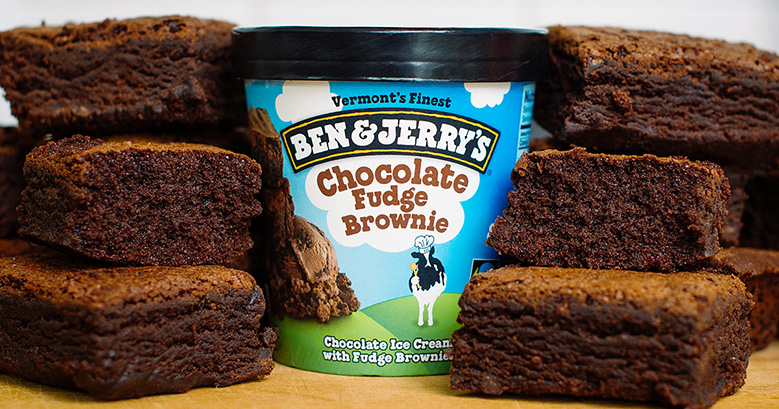 Chocolate Fudge Brownie da Ben & Jerry's - Greyston Bakery